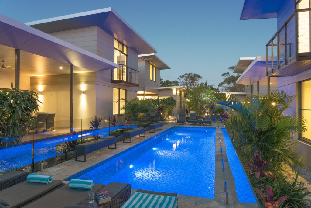Byron Bay Luxury Accommodation with Pool Beach Houses of Byron